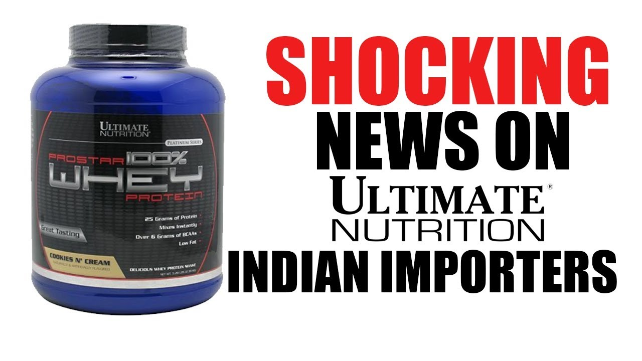 SHOCKING NEWS about Ultimate Nutrition Importers
