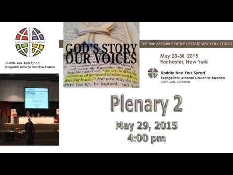2015 Upstate NY Synod Assembly