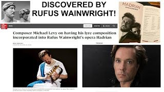 Discovered by Rufus Wainwright!
