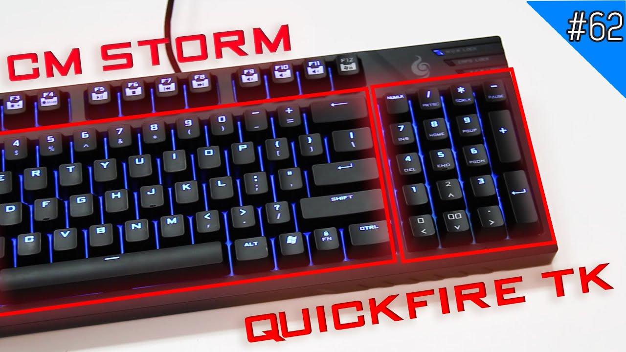 Trên tay CM Storm QuickFire TK: Sự kết hợp tuyệt vời của TKL và Fullsize