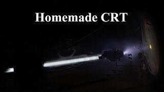 Incredible Homemade CRT - Phosphor Screen