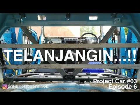 Project Car #03 Episode 6 | TELANJANGIN! | Vios Limo