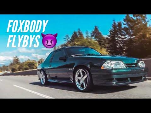 FOXBODY 5.0 Mustang Flybys
