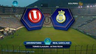 Universitario Vs Real Garcilaso 4-1 Resumen & Goles Torneo Clausura 10/07/2016
