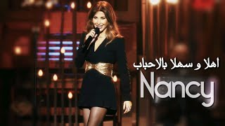 Nancy Ajram - Obba 2021 / نانسي عجرم غنت لأول مرة بین التركي و العربي - أهلا وسهلا بالأحباب