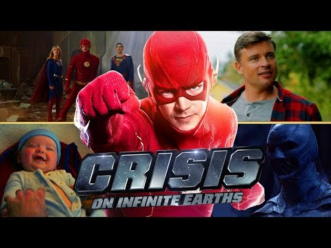 Earth-38 Is Destroyed?! This is Gonna Be AWESOME! Crisis on Infinite Earths TRAILER BREAKDOWN!