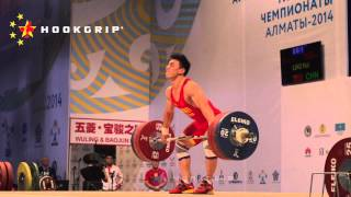 Liao Hui (69) - 166kg Snatch World Record @ 1/50th Speed