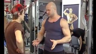 №19. Накачать мышцы за 1 месяц! Часть 5(Данное видео не является личным видео Юрия. Это эпизоды разных шоу и телепрограмм ТВ каналов. http://www.biceps.com.ua..., 2013-02-09T16:17:41.000Z)