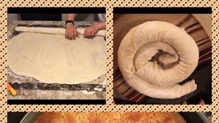 Фатир- слоёная лепешка. Таджикская кухня. Fatir bread. TADJIC cooking