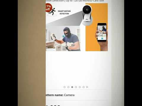 Godrej Eve Nx - Home Security Camera | 2MP 1080p (Full HD) | Two Way Talk | Night Vision |