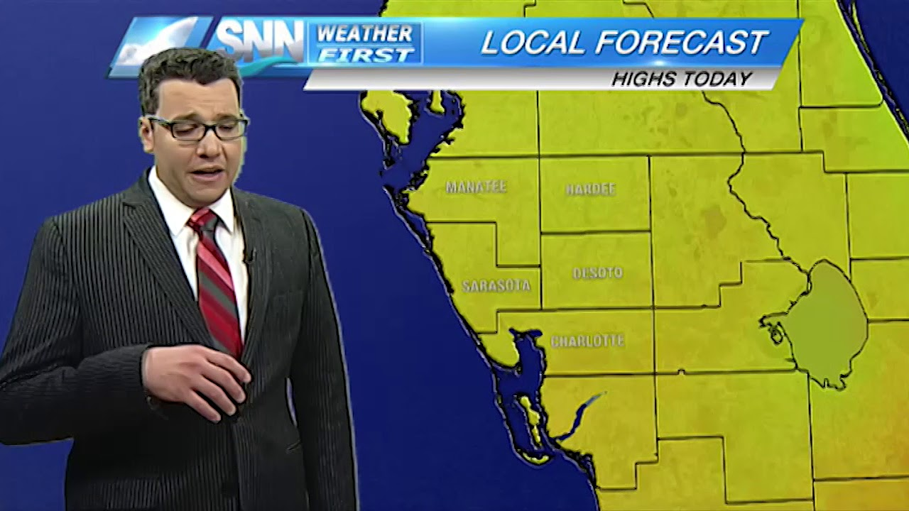 SNN: Friday weather forecast 3/9/18