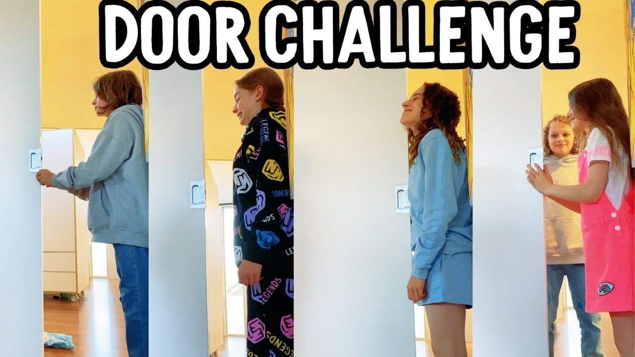 Download DOOR CHALLENGE AGAIN #shorts w/The Norris Nuts