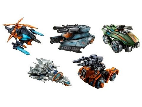 Generations Ruination: Whirl, TopSpin, TwinTwist, Roadbuster & Impactor