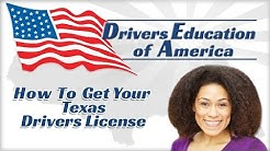 How to Get Your Texas Driver License - Online Adult Drivers Ed