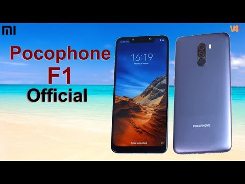 Xiaomi Pocophone F1 Official Look, Price, Specifications, Release Date, First Look, Trailer,Features