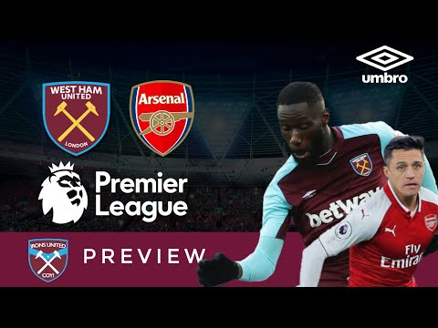 West Ham United v Arsenal Match Preview   Adrian   Alexis Sanchez   London Derby   Irons United