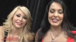 @Nina_mercedez Nina Mercedez and @moniquealexande at Ex...