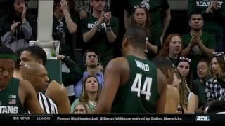 Nebraska at Michigan State - Men's Basketball Highlights