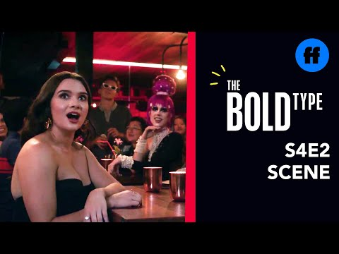 The Bold Type Season 4, Episode 2   Andrew's Drag Performance Shocks The Girls   Freeform from YouTube · Duration:  50 seconds