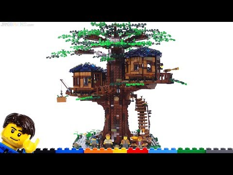 LEGO Ideas Tree House detailed review! 21318
