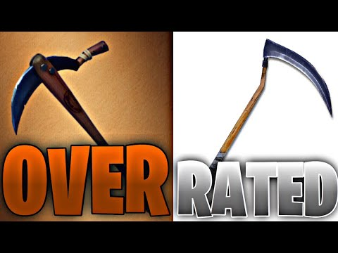 Most OVERRATED Pickaxes in Fortnite! (you LOVE #3)