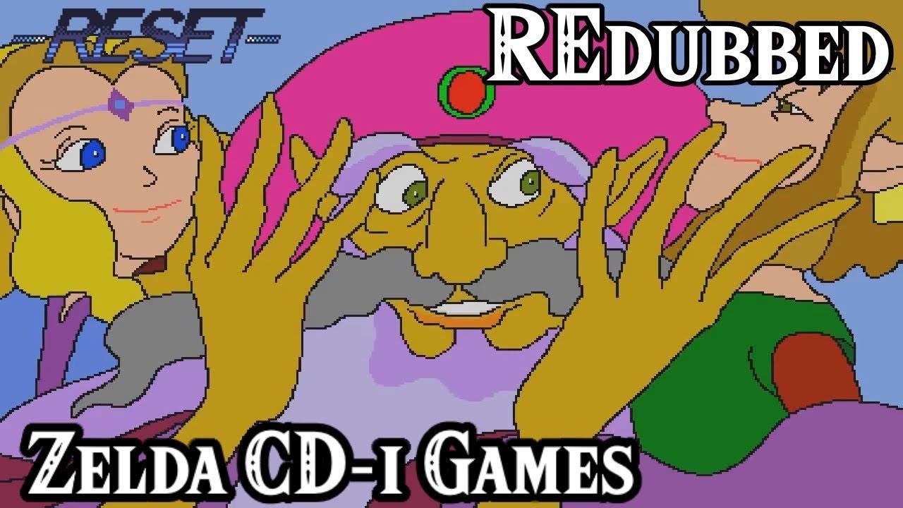 The Legend of Zelda CD-i Games   REdubbed Bonus Episode