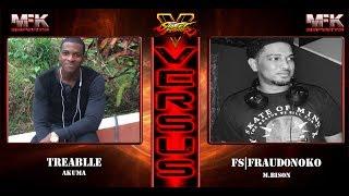 Cross Caribbean Exhibition   SFV   FT5   Terablle(Akuma) vs FS Fraud0noko(Bison)