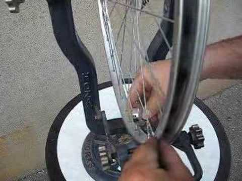 Kerékpár centírozás