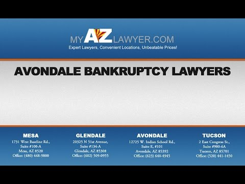 Avondale Bankruptcy Lawyers | My AZ Lawyers