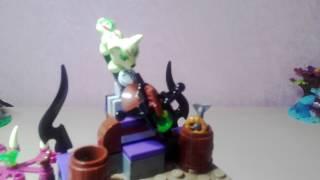 Обзор на 'Спосение королевы драконов' лего эльфы драконы