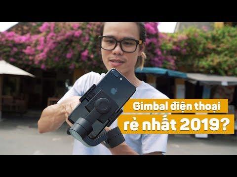 Gimbal điện thoại giá rẻ nhất 2019? Moza Mini-S
