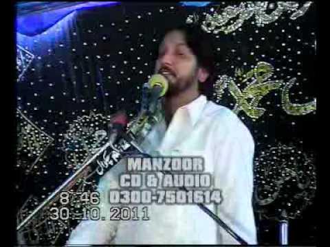 ZAKIR SYED IQBAL HUSSAIN SHAH OF BAJAR MAJLIS 1 ZOLHAJ 2011 AT JHANG