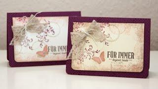 Hochzeitskarte im Vintage-Design ~ Stampin' Up!