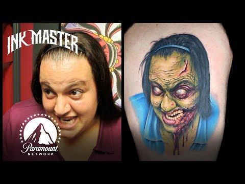 Best Halloween Tattoos 🎃 Ink Master
