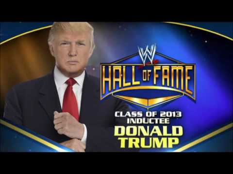 A look back at DONALD TRUMP being INDUCTED into the WWE HALL OF FAME 2013