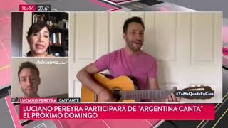 Luciano Pereyra - Entrevista virtual #MetaData#TN
