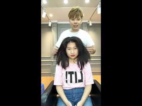 Sinh Anh Livetream cứu rỗi mái tóc bông xù