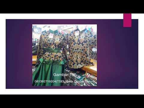 video youtube batik couple gamis