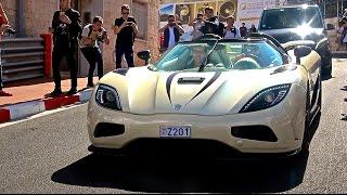 Some of Monaco's Most Insane Supercars! [Monaco Supercar Insanity #4]