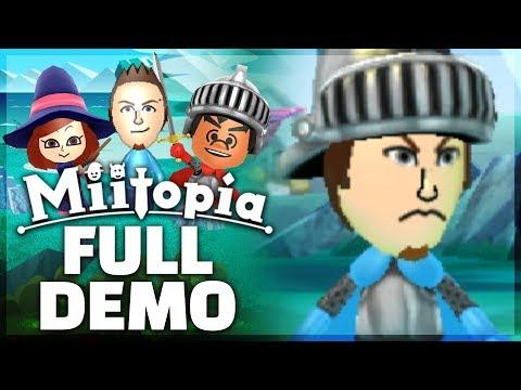 Miitopia - FULL DEMO PLAYTHROUGH - Part 2! [New Nintendo 3DS Gameplay]