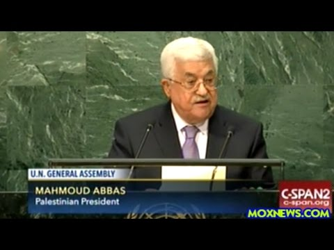 Palestinian President Says UN Security Council Is Not Holding Israel Accountable For It's Actions!