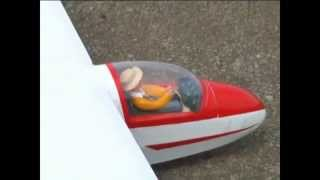 Phoenix Model K8B 3500mm Sailplane ARF Video