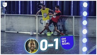 Neymar CHALLENGES Oh My Goal: Is He Really Good?
