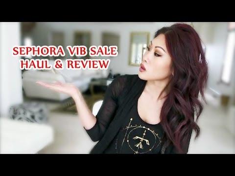 SEPHORA VIB Sale Haul & Review