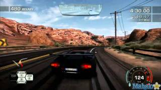 Need for Speed- Hot Pursuit Pt 128 Lamborghini Untamed DLC Cannonball