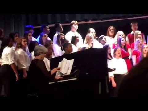 South Florence High School Chorus 12/2/2014