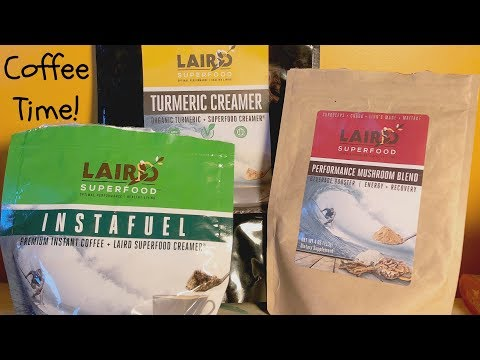 Laird Superfood Instafuel, Turmeric Creamer, and Performance Mushroom Blend Review
