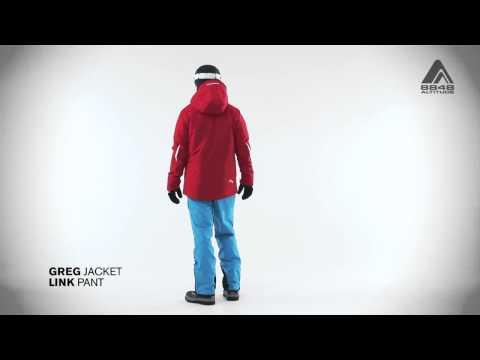 Мужская крутка GREG и штаны LINK от 8848 Altitude