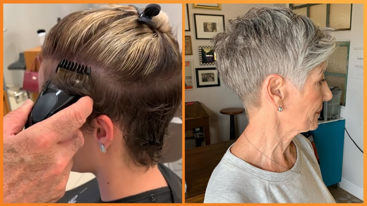 Look Younger With Pixie Undercut Haircut  🥰 New Hair Trendy 2020 Compilation
