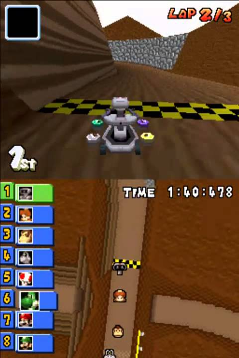 Mario Kart Ds How To Beat The Whole Game And Get R O B By